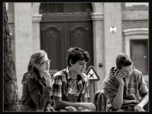 street photography, monochrome, platina toned